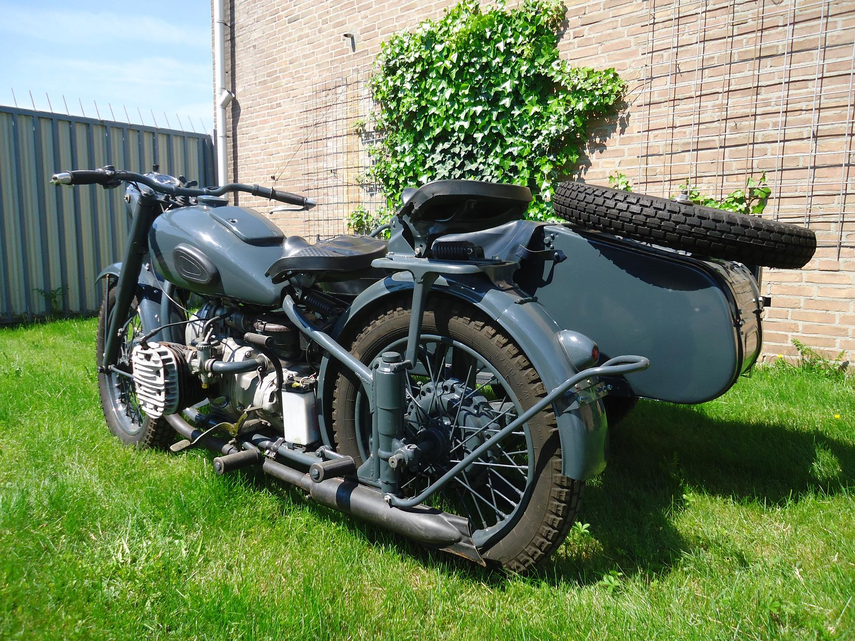 Very nice restored  1957 Ural M72