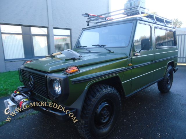 Very rare 300GD 2-door LWB hard top !
