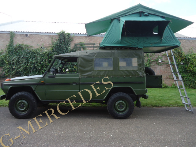 Rare LWB 240GD with camping equipment