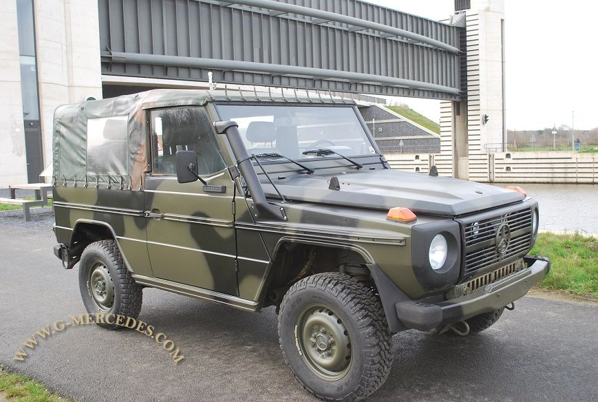 Military 250GD Turbo Diesel + A/C !