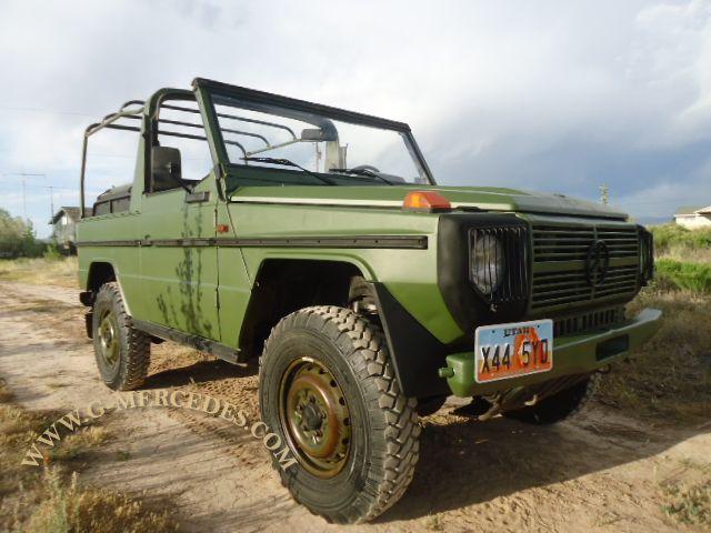 Military 240GD super original Utah title
