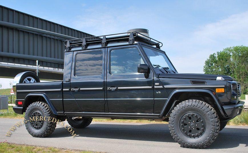 One-off custom build 4-door G500 pick-up