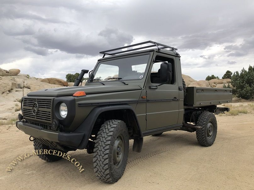 Rare 461 low milage 250GD Pick-up TD+A/C